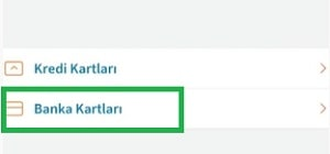 Halkbank kartını internete açma; banka kartları