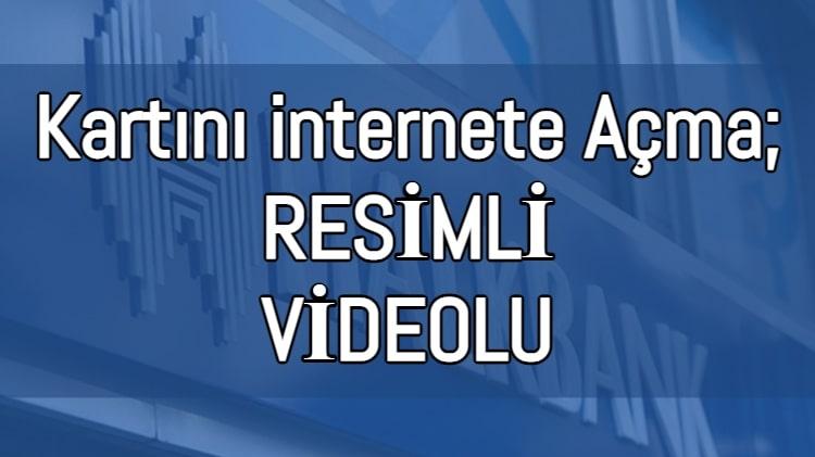 Halkbank Kartını internet Alışverişine Açma 2021 (Videolu Anlatım)