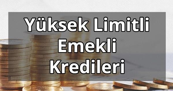 Ziraat Bankası Yüksek Limitli Emekli Kredisi 2021 Faiz Oranları