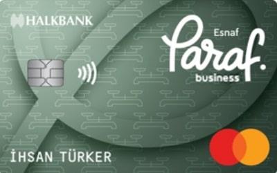 Halkbank Ticari Paraf Kredi Kartı Özellikleri