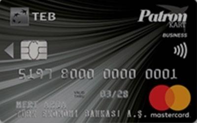 TEB ticari kredi kartları ve patron kart özellikleri