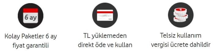 Faturasız Vodafone hat taşıma paketleri ve güncel fiyatları