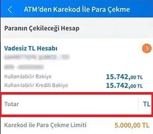 Halkbank kartsız para çekme miktarı belirleme