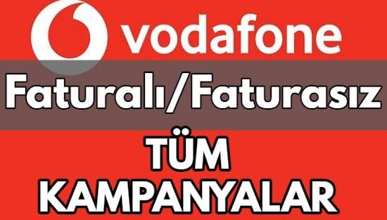 Vodafone Hat Taşıma (Faturalı/Faturasız 42+ Güncel Kampanya 2021)