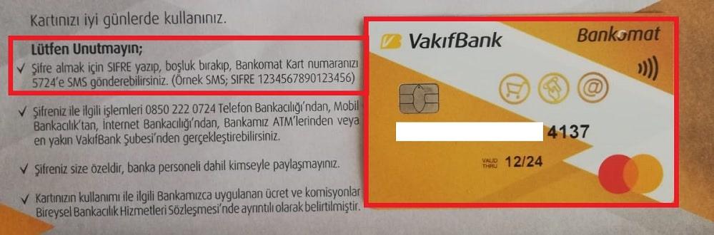 Vakıfbank internet bankacılığı şifre oluşturma adımları
